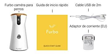 Contenido caja Furbo cámara perro