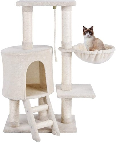MC Star árbol juguete gato con rascador hamaca