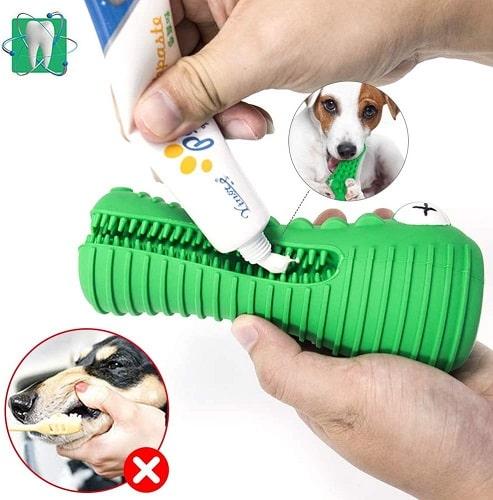 Juguete para perros indestructibles para limpiar dientes perro