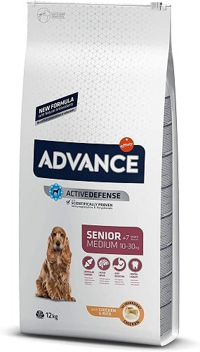 Pienso para perros Advance Active Defense Senior Medium