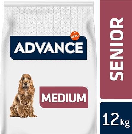 Alimento seco para perros Advance Active Defense Senior Medium