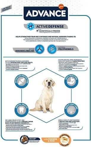 Advance Active Defense Adult Maxi para perros grandes