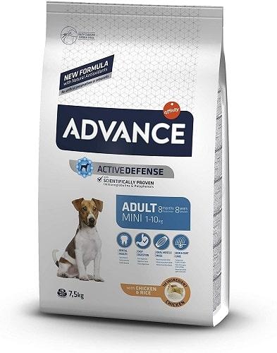 Pienso para perros Advance Active Defense Adult Mini
