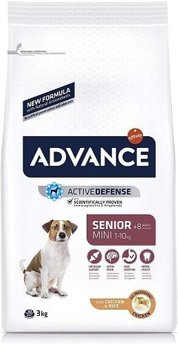 Pienso para perros Advance Active Defense Senior Mini