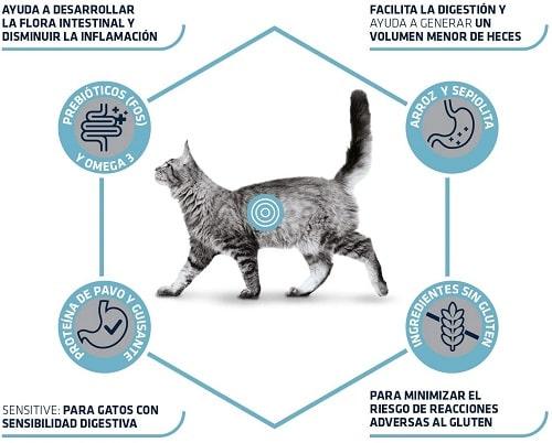 Alimento seco para gato Advance Veterinary Diets Gastroenteric Sensitive