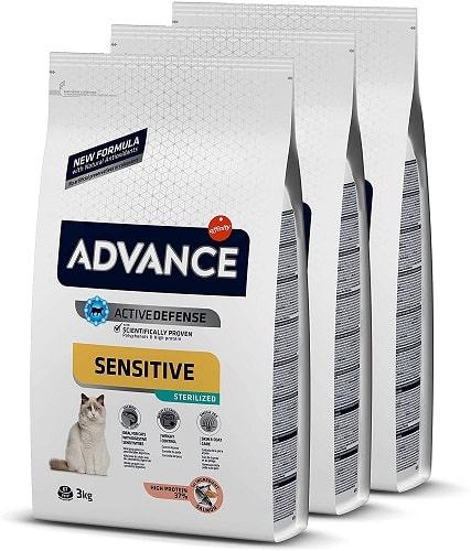 Pienso para gato Advance Active Defense Sensitive sterilized