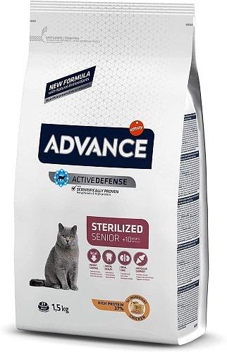 Pienso para gato Advance Active Defense Sterilized Senior