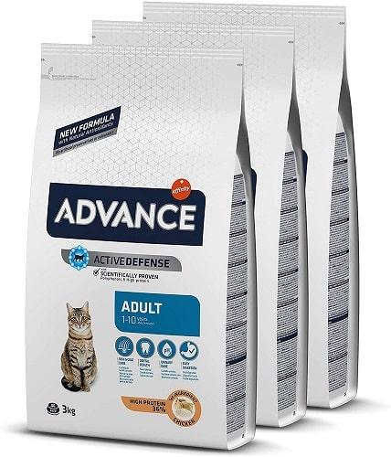 Pienso para gato adulto Advance Active Defense Adult