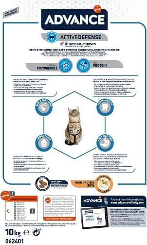 Alimento seco para gato adulto Advance Active Defense Adult