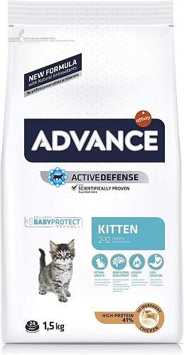 Pienso para gato Advance Active Defense Kitten