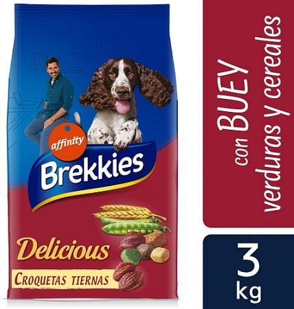 Alimento seco para perros Brekkies Delicious
