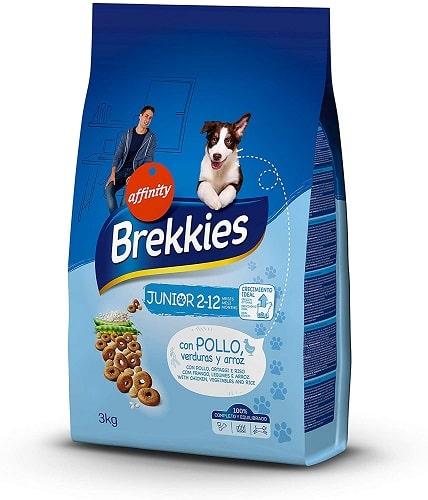 Pienso para perros Brekkies Junior