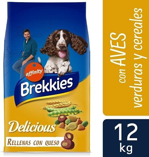 Alimento seco para perros Brekkies Delicious adulto