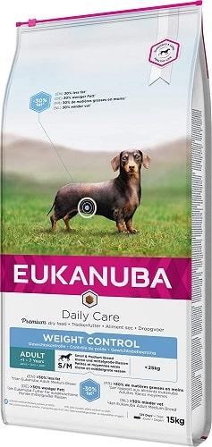 Alimento seco Eukanuba para perros con sobrepeso raza pequeña y mediana