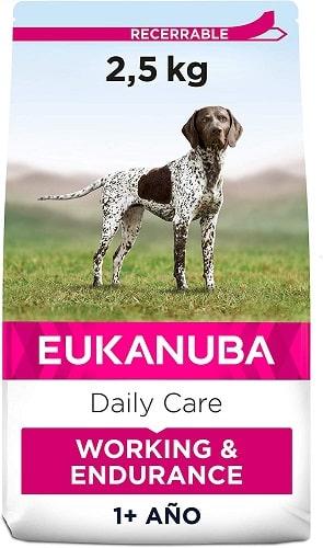 Alimento seco para perros Eukanuba Daily Care Working Endurance