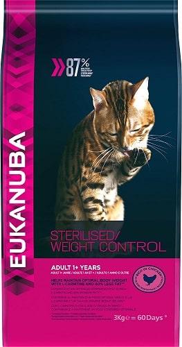 Pienso para gatos con sobrepeso Eukanuba
