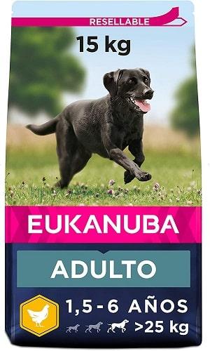 Pienso Eukanuba para perros de raza grande