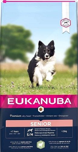 Alimento seco Eukanuba para perros senior de razas pequeñas y medianas