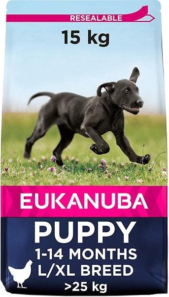 Pienso Eukanuba para perros puppy razas grandes