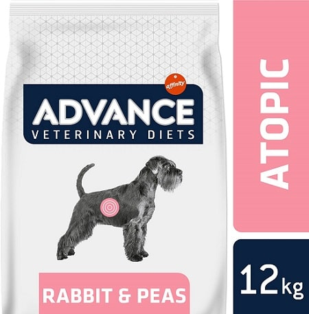 Alimento seco para perros Advance Veterinary Diets Atopic Medium Maxi con conejo