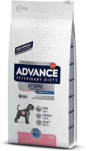 Pienso para perros Advance Veterinary Diets Atopic con trucha