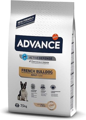 Pienos para perros Advance Active Defense French Bulldog Adult