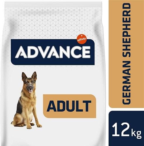 Alimento seco para perros Advance Active Defense Pastor Alemán adulto