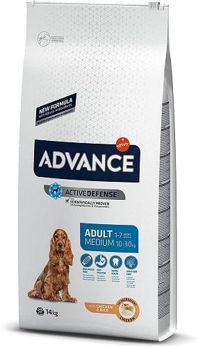 Pienso para perros Advance Active Defense Adult Medium