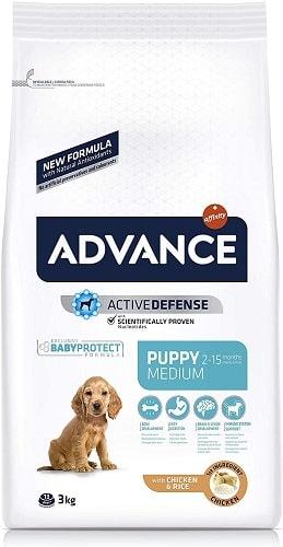 Pienso para perros Advance Active Defense Puppy Medium