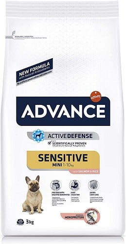 Pienso para perros Advance Active Defense Sensitive Mini