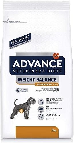Pienso para perros Advance Veterinary Diets Weight Balance Medium Maxi