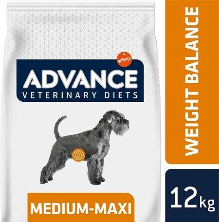 Alimento seco para perros Advance Veterinary Diets Weight Balance Medium Maxi