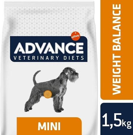 Alimento seco para perros Advance Veterinary Diets Weight Balance Mini