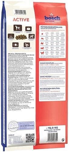 Alimento seco para perros Bosch HPC Active para perros activos