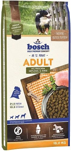 Pienso para perros Bosch HPC Adult con aves de corral frescas y mijo