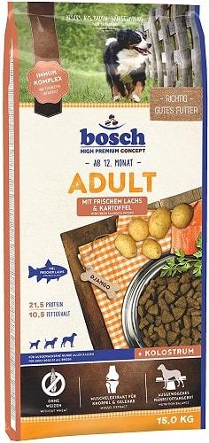 Pienso para perros Bosch HPC Adult con salmón fresco y patata