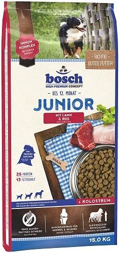 Pienso para perros junior Bosch HPC Junior con cordero y arroz