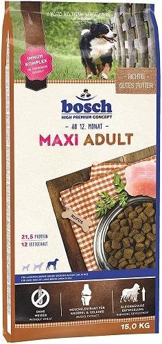 Pienso para perros Bosch HPC Maxi Adult con mejillones