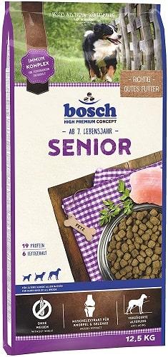 Pienso para perros senior Bosch HPC Senior con mejillones
