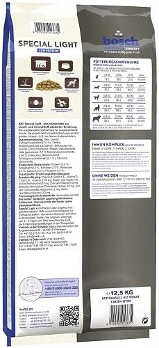 Alimento seco para perros Bosch Special Light Low Protein