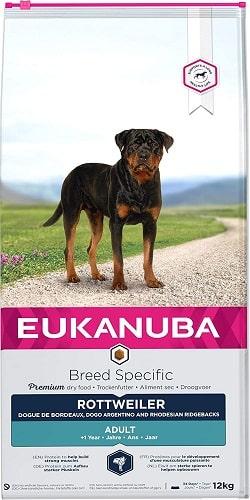 Alimento seco para perros Eukanuba Breed Specific Rottweiler