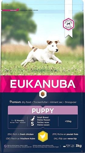 Alimento seco para perros Eukanuba cachorro de razas pequeñas