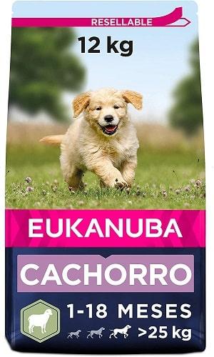 Pienso para perros Eukanuba cachorro de razas grandes