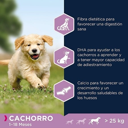 Pienso para perros Eukanuba cachorro de 1 a 18 meses