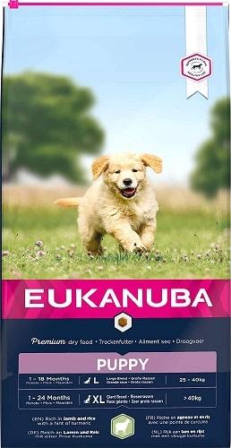 Alimento seco para perros Eukanuba cachorro de razas grandes