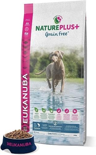 Pienso para perros Eukanuba NaturePlus Grain Free Junior