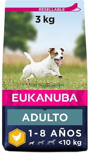 Pienso para perros Eukanuba Adulto de raza pequeña