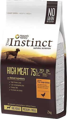 Pienso para perros True Instinct High Meat Medium Maxi