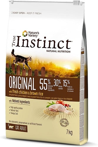 Pienso para gatos adultos True Instinct Original