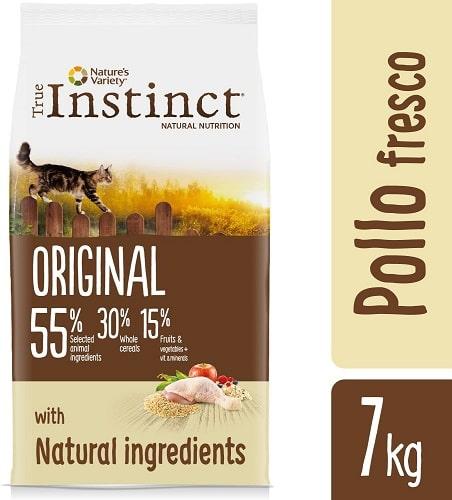 Alimento seco para gatos adultos True Instinct Original